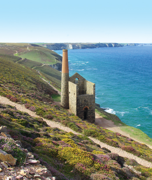 Picture of Wheal Coates Towanroath engine house near Chapel Porth